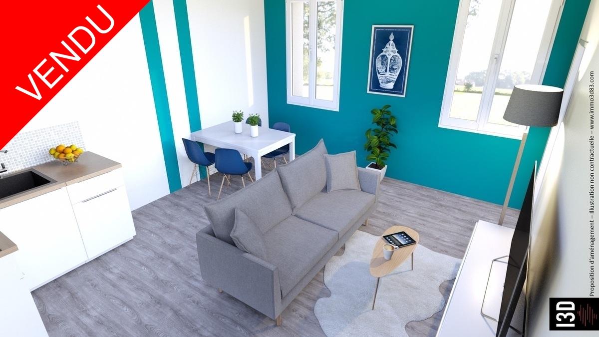 Vente Appartement rénové Marseille 5ème