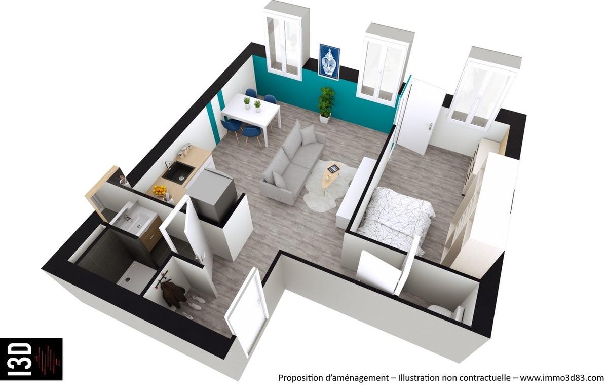 Vente Appartement rénové Marseille